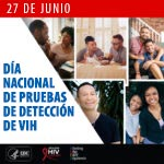 graphic depicts National HIV Testing Day